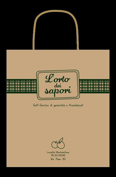 L'orto shopper bag